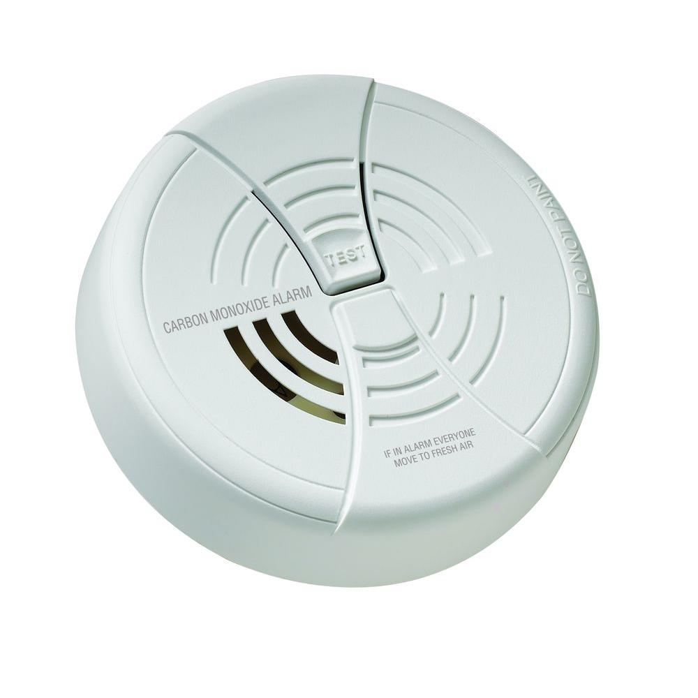 Battery Powered Travel Carbon Monoxide Alarm with Lithium Battery