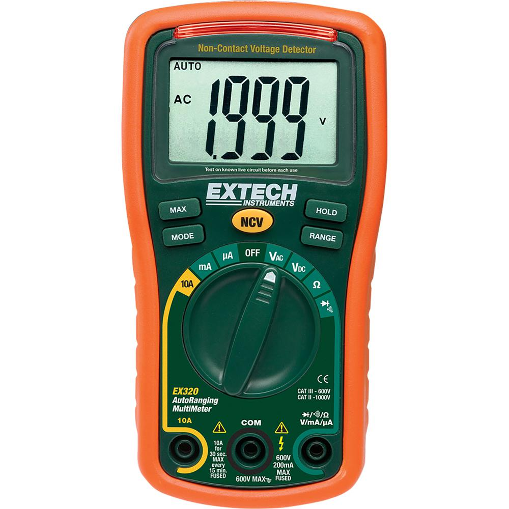 Autoranging Mini Multimeter with NIST