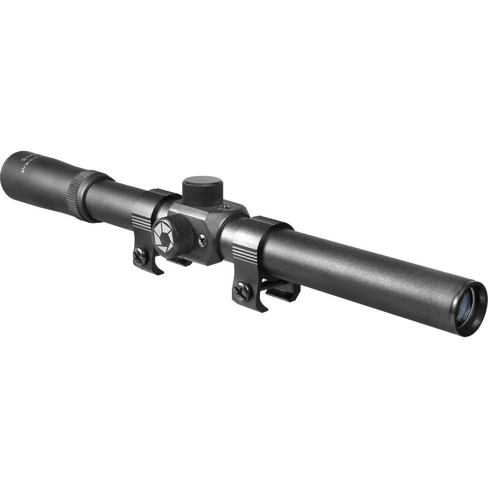 4x15 30/30 Reticle Rimfire Riflescope